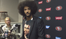Kaepernick on Bills Fan Throwing Beer Bottle: ' They Have Really Bad Aim' (Video)