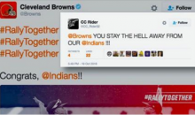Cleveland Browns Congratulate The Indians & Then Get Roasted Because They Suck