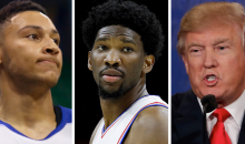 Joel Embiid Tells Ben Simmons That Donald Trump Will Deport Him If He Wins