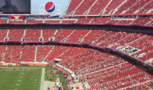 Yet Another Game Where 49ers Fans Came Dressed as Seats (PICS)