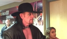 The Undertaker is in The Building For Cavaliers Ring Ceremony (Video)