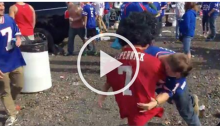 Drunk Bills Fans Spear Kaepernick Dummy While Yelling 'Tackle The Muslim' (Video)