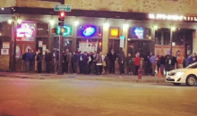 Chicago Cubs Fans Were Lining Up To Get in Bars 14 Hours Before Game 3