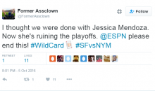 Baseball Fans Go OFF on Social Media About Jessica Mendoza Calling Wild-Card Game (Tweets)