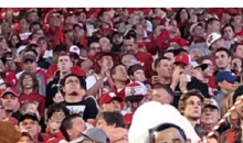Fan At Wisconsin Game Wears Barack Obama Mask With Noose Hanging From His Neck (PIC)