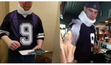 People Around The Country Are Dressing Up As 'Injured Tony Romo' For Halloween