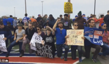 Bills Fans From Every Race Kneel in Solidarity With Colin Kaepernick (Video)