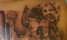 After 4 Games, Cowboys Fan Gets Massive Ezekiel Elliott-Dak Prescott Chest Tattoo (PIC)