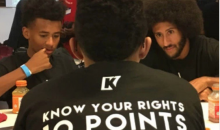 Colin Kaepernick Spends His Bye Week Mentoring The Youth in Oakland
