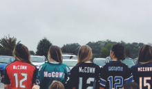 That Awkward Moment When You're Josh McCown's Daughter & It's 'Jersey Day' at School