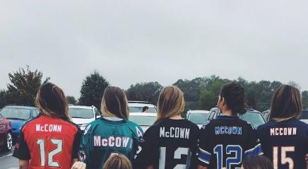 josh mccown daughter jersey