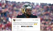49ers WR Torrey Smith Calls Out Josh Brown And The NFL on Twitter