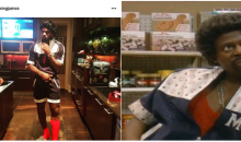 LeBron James Went as 'Jerome' From 'Martin' For Halloween (Video)
