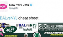 New York Jets Twitter Account Gives The Team an 'L' Before Playing The Baltimore Ravens