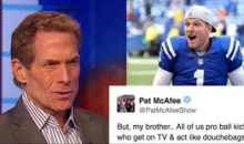 Colts Punter Pat McAfee Throws Shots at Skip Bayless After He Criticized NFL Kickers
