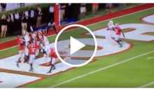 Tennessee Shocks Georgia With Crazy 50-Yard Hail Mary (Video)