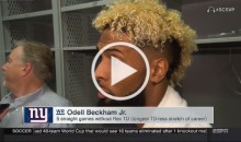 P*ssed Off Odell Beckham Says if He Sneezes the Wrong Way, Refs Would Flag Him (Video)