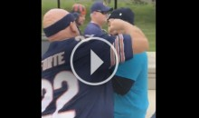 Jags Fan Gets Punched in The Face & Bears Fan Gets Kicked In The Head During Brawl (Video)