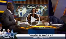 Shannon Sharpe: 'Dallas Cowboys Are Not For Real, They've Beaten Tomato Cans' (Video)