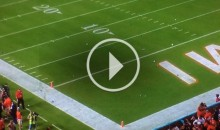 Upset Miami Hurricanes Fans Throw Debris All Over The Field (Video)