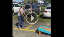 Suspect: Miami Dolphins Fans Play 'Cornhole' With a Dildo (Video)