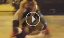 Chicago Cubs Fans Fight Each Other Outside Wrigley Field (Video)