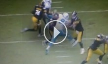 Pittsburgh Steelers File Complaint Claiming Suh Kicked Roethlisberger (Video)