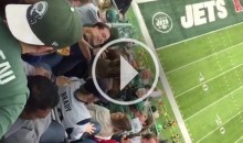 Patriots Fan at New York Jets Game Gets Belted With 'A**hole' Chants (Video)
