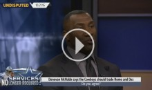 Shannon Sharpe: 'Cowboys Should Get Rid of Dez Because of His Negative Influence' (Video)