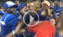 Toronto Blue Jays Fans Fight Each Other During Playoff Game (Video)