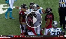Cam Newton Gets 15-yard Taunting Penalty For Signaling First Down (Video)