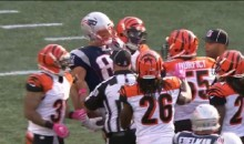 Gronk is Killing the Bengals and Taunting Them Every Chance He Gets (Video)
