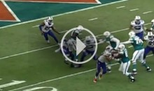 Dolphins WR Jarvis Landry Destroys Bills' Aaron Williams With Vicious Block (Video)