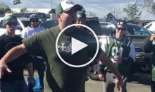 Crazy Jets Fan Gives Crowd Pep Talk On Why Team Will Make The Playoffs (Video)