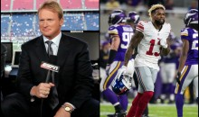 Jon Gruden Wants the Giants to Bench Odell Beckham Jr.: 'He's Got No TD's & Dropping Passes' (Video)