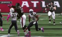 To Avoid $100K Fine, Atlanta Falcons Use Madden 17 Highlights to Troll NFL Policy (GIF)