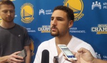 Klay Thompson Wants to Know ESPN's Anonymous Source Who Called The Warriors 'Cowards' (Video)