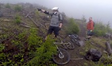 Insane Video: Mountain Bikers Dodge Bullets on Trail in Washington's Capitol State Forest