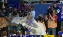 After Scoring Again, Odell Hugs & Has a Conversation With The Kicking Net (Video)