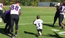 Ravens 3rd Ranked Defense Gets Destroyed by 5-Year-Old Leukemia Patient (Video)