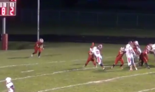 Watch This HS Punter Kick the Ball the Entire Length of the Field (Video)