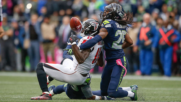 Richard Sherman Pass Interference on Julio Jones