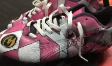 Atlanta Falcons WR Mohamed Sanu to Wear Pink Power Ranger Cleats For Breast Cancer Awareness