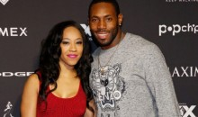 Antonio Cromartie's Wife Responds to Threats Against CB for Kneeling During Anthem (Pics)