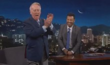 Vin Scully Does Play-by-Play for Home Run Jimmy Kimmel Hit 12 Years Ago (Video)
