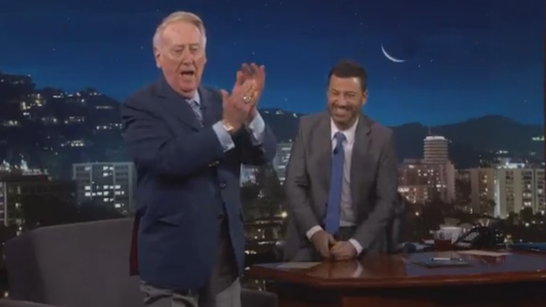 vin-scully-does-play-by-play-for-home-run-jimmy-kimmel-hit-in-charity-softball-game