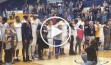 Kent State Brings Fans Onto Court For National Anthem in Show of Unity (Video)