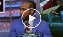Josh Norman Wants to Know Why He Was Fined $25K & Cam Newton Wasn't For Comments About Refs (Video)