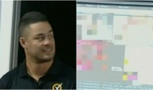 Former 49ers RB Jarryd Hayne Accidentally Shows Porn While Speaking With High Schoolers (Video)