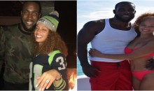 Kam Chancellor Proposes to Ex-Taz's Angel & Possible Escort Tiffany Luce After Monday Night Game (Video)